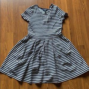 Girls striped Polo dress